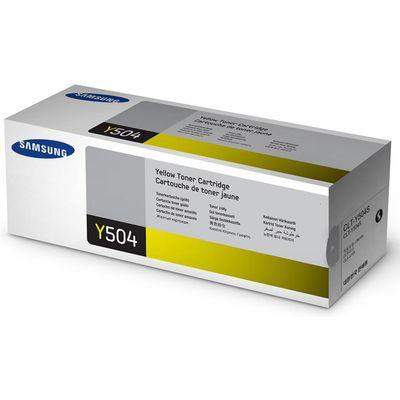 TONERCARTRIDGE SAMSUNG CLT-Y504S 1.8K GEEL