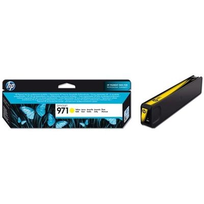 HP 971 (CN624AE) Inktcartridge Geel