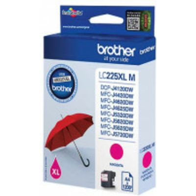 Brother LC-225XLM Inktcartridge Magenta Hoge capaciteit