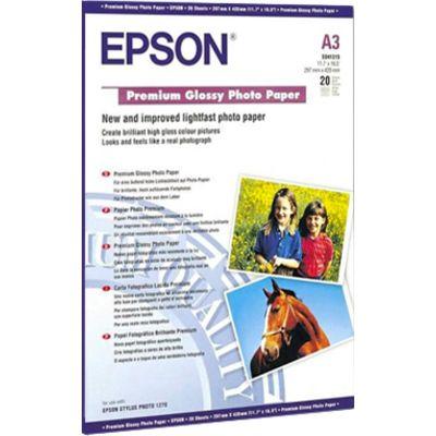 Epson premium glossy A3+ fotopapier 1 pak (20 vel)