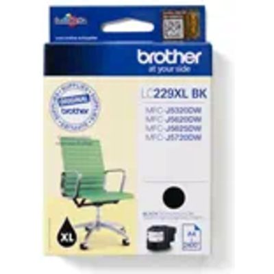 Inkcartridge Brother LC-229XLBK zwart HC