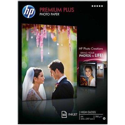 HP glanzend A4 fotopapier 1 pak (50 vel)