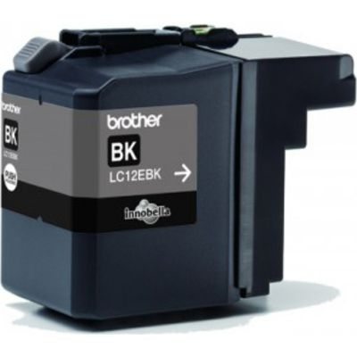 Brother LC-12EBK Inktcartridge Zwart