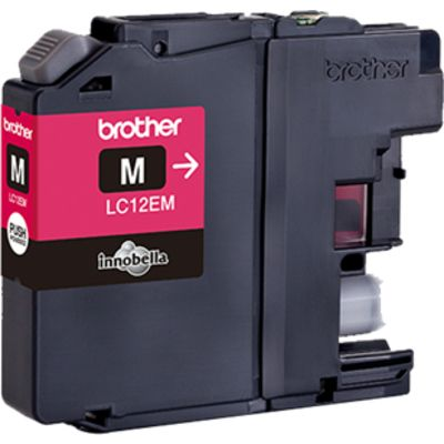 Brother LC-12EM Inktcartridge Magenta