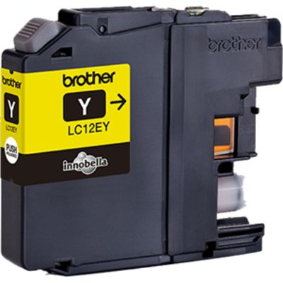Brother LC-12EY Inktcartridge Geel