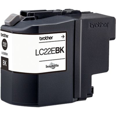 Brother LC-22EBK Inktcartridge Zwart