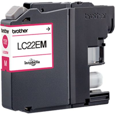 Brother LC-22EM Inktcartridge Magenta