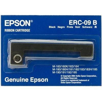 Epson Ribbon Cartridge HX-20, M-160-M-180-M-190 series, black (ERC09B)