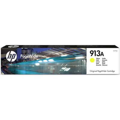 HP 913A (F6T79AE) Inktcartridge Geel