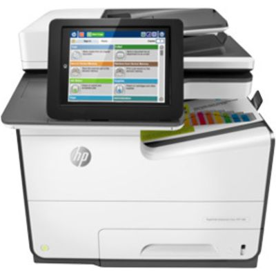 HP PageWide Enterprise Color MFP 586dn Inkjet Printer