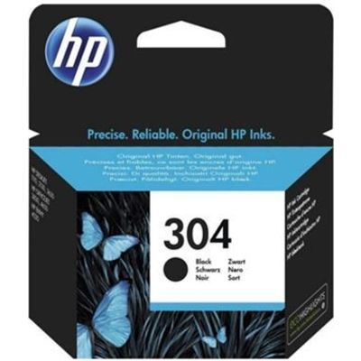 HP 304 (N9K06AE) Inktcartridge Zwart