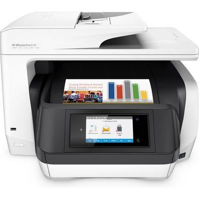 HP OfficeJet Pro 8720 AiO Thermische inkjet A4 Wi-Fi