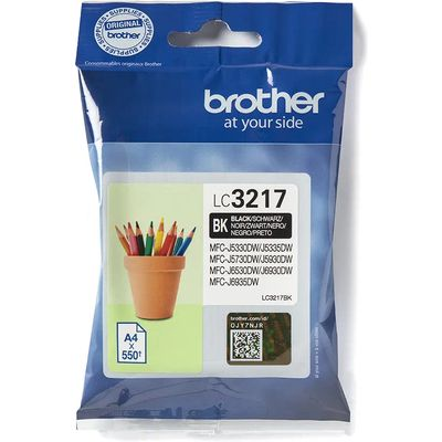 Brother LC-3217BK Inkt (550 pagina s)