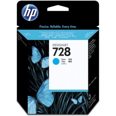 HP 728 (F9J63A) Inktcartridge Cyaan