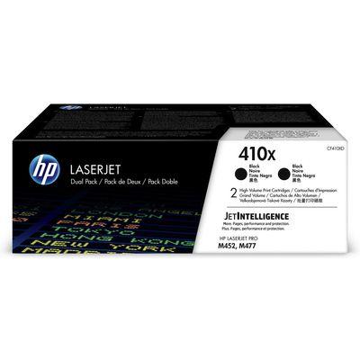 HP Toner CF 410 XD zwart nr. 410 X