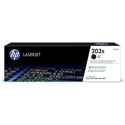 HP Originele 203X high-capacity zwarte LaserJet tonercartridge