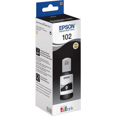 Epson 102 127ml Zwart inktcartridge