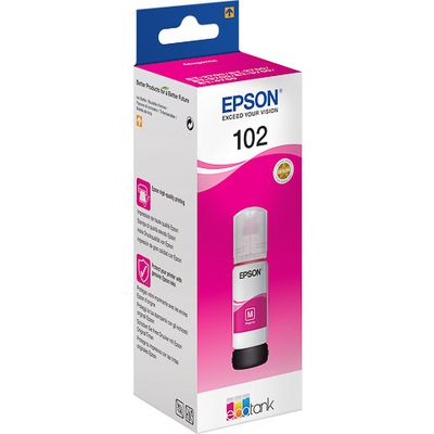 Epson 102 70ml Magenta inktcartridge