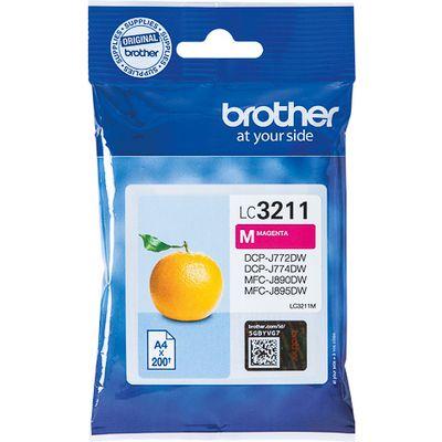 Brother LC-3211M 200pagina's Magenta inktcartridge