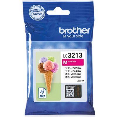 Brother LC-3213M 400pagina's Magenta inktcartridge