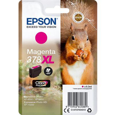 Epson 378XL 9.3ml 830pagina's Magenta inktcartridge