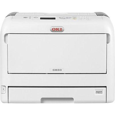 OKI C833dn Kleur 600 x 1200DPI A3 Wit