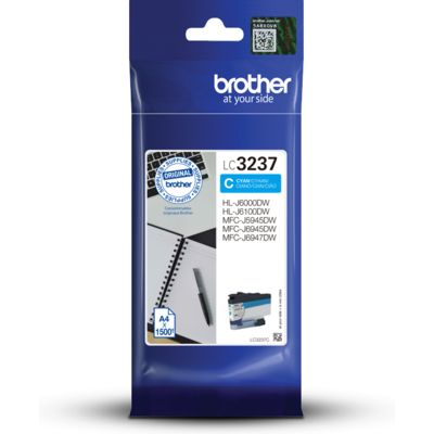 Brother LC-3237C Inktcartridge Cyaan