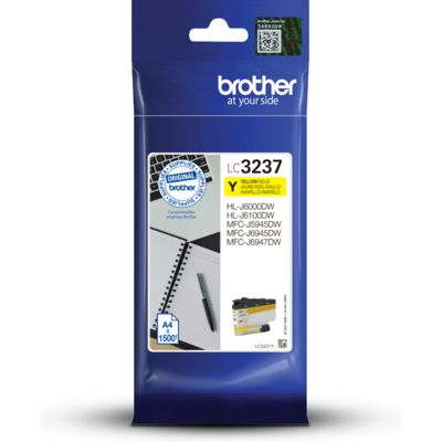 Brother LC-3237Y Inktcartridge Geel