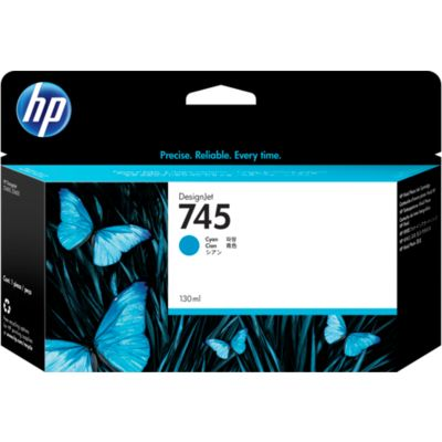 HP 745 (F9J97A) Inktcartridge Cyaan