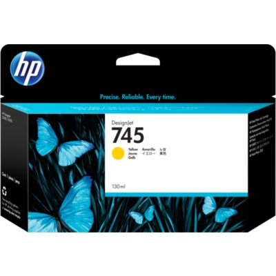 HP 745 (F9J96A) Inktcartridge Geel