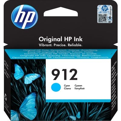 HP 912 (3YL77AE) Inktcartridge Cyaan
