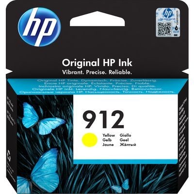 HP 912 (3YL79AE) Inktcartridge Geel