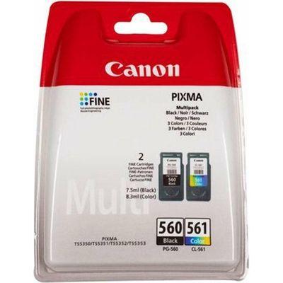 Canon 3713C006 inktcartridge Origineel Zwart, Cyaan, Magenta, Geel Multipack 2 stuk(s)