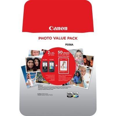 Canon 3712C004 inktcartridge Origineel Zwart, Cyaan, Magenta, Geel Multipack 2 stuk(s)